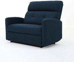 Christopher Knight Home Halima Fabric 2-Seater Recliner