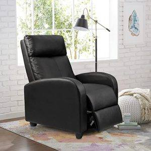 Homall Recliner Chair Padded Seat Pu Leather recliner chair