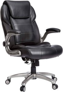 Amazon Commercial Ergonomic High-Back Bonded Leather Executive Chair