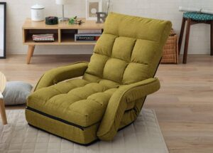 EMOOR Multi-Use Folding Chaise Lounge Lazy Sofa Recliner MOLLET