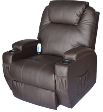 Real Relax Massage Recliner Chair