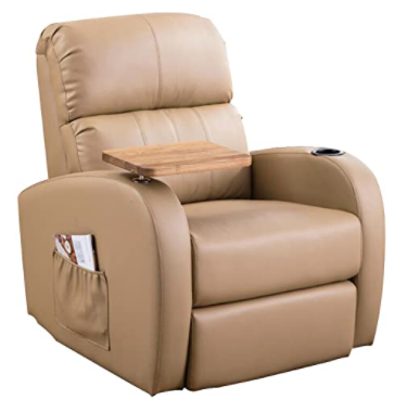 Memory Leather Recliner