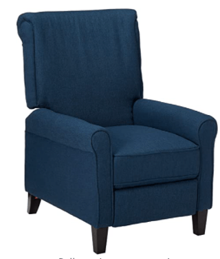 Christopher Knight Home Charell Traditional Fabric Recliner
