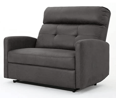 Christopher Knight Home Halima Microfiber 2-Seater Recliner