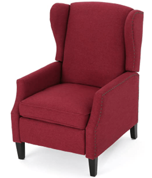 Christopher Knight Home Wescott Traditional Fabric Recliner