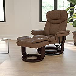 Flash Furniture Contemporary Palimino Leather RV recliner Chair