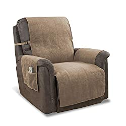 GPD Heavy-Weight Luxury Microsuede Recliner Cover