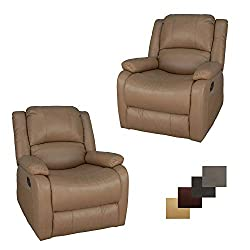Two RecPro Charles SGR Swivel Glider RV Recliners